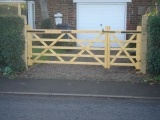 farm style wooden gates derby