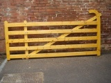farm style wooden gates derbyshire