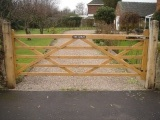 bespoke farm style wooden gate manufacturer