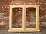 solid wood flush casement windows in derbyshire