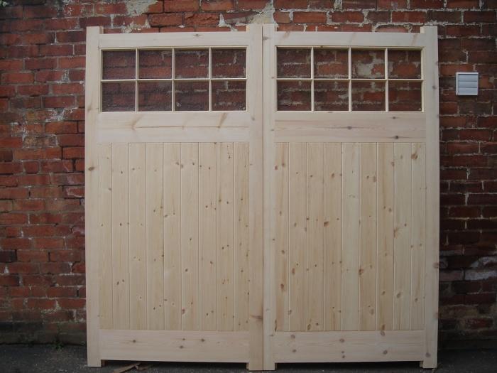 Farm Style Custom Drive Wood Gates High Quality Wooden