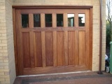 despoke wooden garage doors