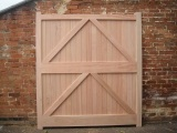 custom wooden garage door manufacturer in derby