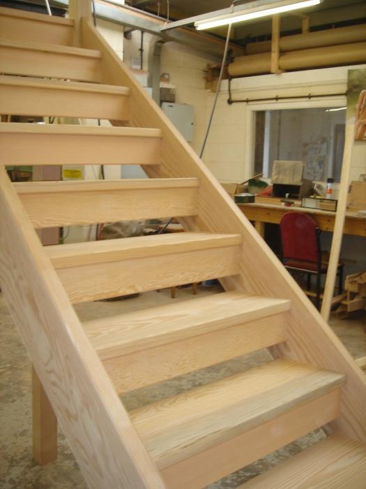 Open Tread Wooden Stair Manufacturer In Derby
